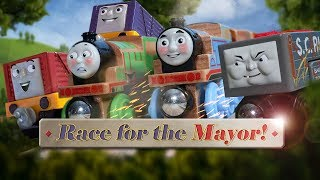 Thomas & Friends: Race for the Mayor! + Troublesome Truck Trouble Compilation | Thomas & Friends