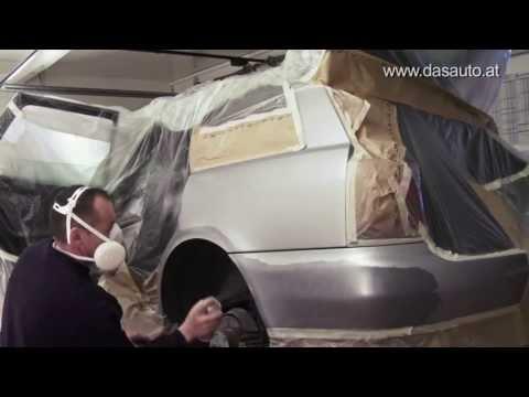 Tiefe Kratzer und Schrammen am Autolack selbst reparieren. Do-it-yourself Video Tutorial [HD]