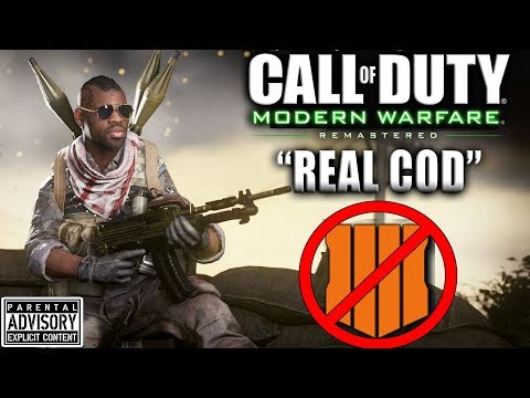 Classic Boots on the Ground Call of Duty...MODERN WARFARE REMASTERED in 2019 Live