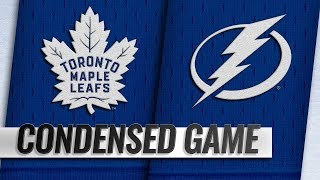 12/13/18 Condensed Game: Maple Leafs @ Lightning by NHL