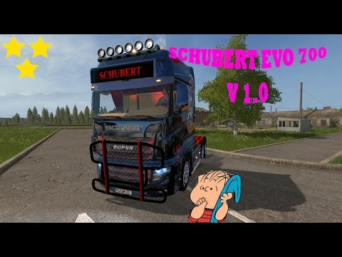 Scania SCHUBERT 700 EVO v1.0