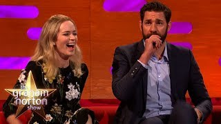 Emily Blunt Wishes John Krasinski Would Be Less American | The Graham Norton Show
