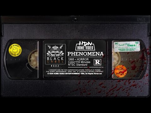 Phenomena - HDN Home Video Platinum Edition [VHS 1985] Black Label #002