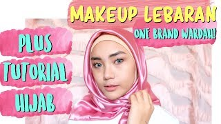 Video TUTORIAL MAKEUP LEBARAN NATURAL (PEMULA) + TUTORIAL HIJAB | ONE BRAND MAKEUP WARDAH | raniekarlina MP3, 3GP, MP4, WEBM, AVI, FLV September 2018