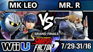 SF5 Smash 4 – SF HDG | MK Leo (Marth, Metaknight) Vs. Mr. R (Sheik) SSB4 Grand Finals – Smash Wii U