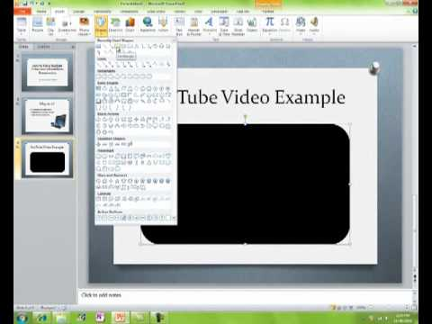 how to turn a powerpoint into a video for youtube