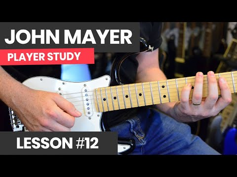 How To Play Fingerstyle Rhythm Guitar Like John Mayer (Part 2) - Continuum Style Guitar Lesson