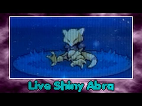 [ALMOST LIVE THX PHONE] Shiny Abra after 15 238 RE ! (видео)