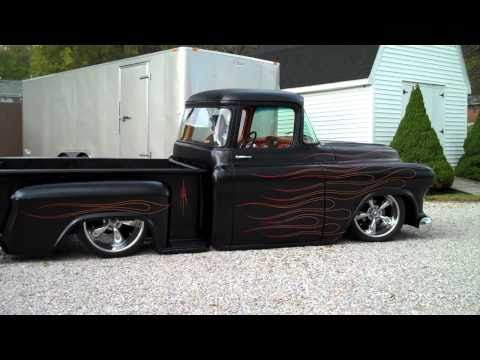 1955 Chevy Hot Rod Truck, Bagged, Air Ride