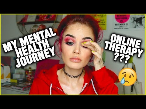 MY MENTAL HEALTH JOURNEY (Q&A + Online Therapy) | atleeeey