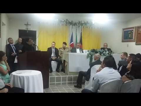Discurso do Juiz dr Osenival na diplomação dos eleitos em Casserengue