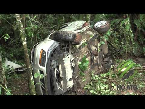 Três pessoas morrem em acidente na Br-282 em Bom Retiro