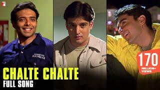 Chalte Chalte - Full Song | Mohabbatein | Uday Chopra | Jugal Hansraj | Jimmy Shergill