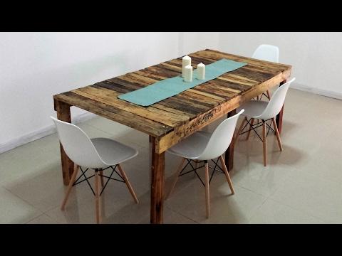 Tavolo in Pallet fai da te