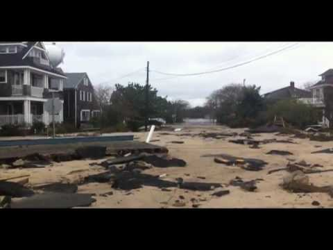 Hurricane Sandy Destroys Bay Head NJ