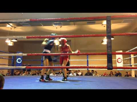 Tiffanee Cook Victorian Amateur Title Fight
