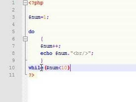 PHP Tutorial – 8 – Do Loop