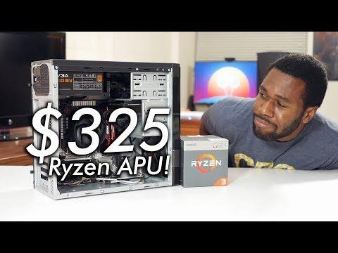 New hairstyle - Brand New $325 / £325 Ryzen Gaming PC ft. Ryzen 3 2200G APU!