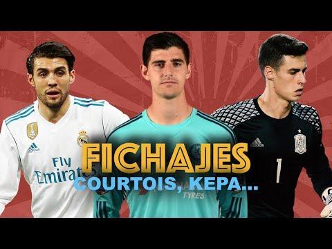 COURTOIS, NUEVO FICHAJE DEL REAL MADRID  KEPA AL CHELSEA
