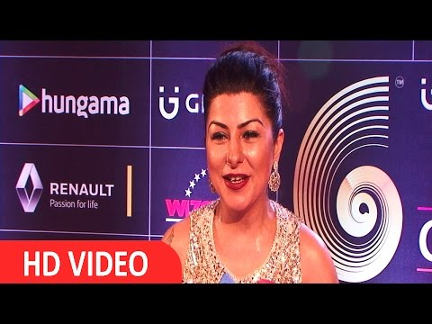 Hard Kaur At Red Carpet Of GIMA Awards