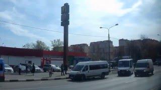 . Московская область. Поездка по трассе М-5 Москва-Челябинск на автобусе рейса Москва-Пенза