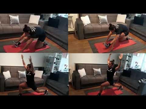 #VježbajDoma za suce 23: Funkcionalni trening agilnosti na podnim ljestvama 3