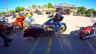 10. First Ride on Harley Davidson CVO Road Glide!