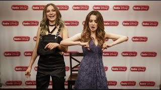 Daya and Laura Marano Sit Still, Look Pretty Musical Chairs | Radio Disney Video