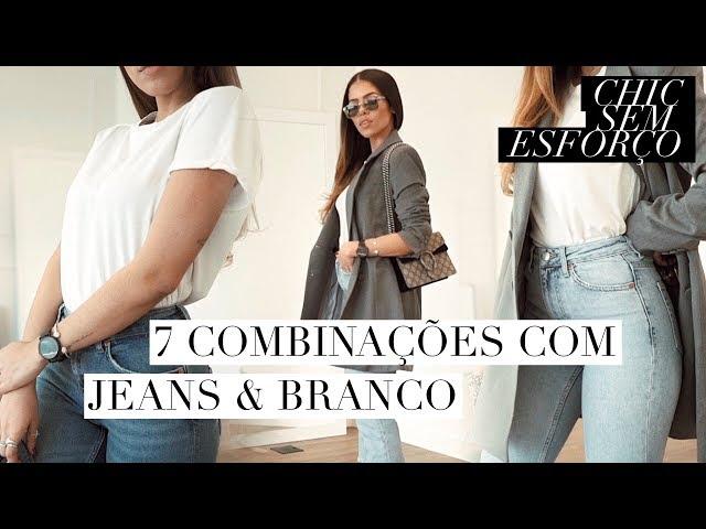 O PODER DO JEANS E BRANCO | RAYZA NICÁCIO - Rayza Nicácio