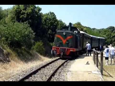 Schmalspurbahn Trenino Verde auf der Strecke Tempio - Palau