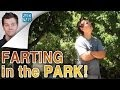 Farting In The Park - california, candid camera, fart, farting, jack vale, prank, sacramento, the pooter
