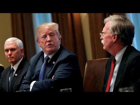 USA: Präsident Trump entlässt Nationalen Sicherheitsberater Bolton