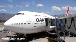 Video Visita al Boeing 747-400 VH-OEI de Qantas en SCL MP3, 3GP, MP4, WEBM, AVI, FLV Juni 2018