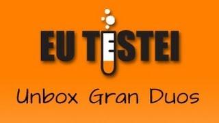 Smartphone Samsung Galaxy Gran Duos I9082 - Unboxing Brasil