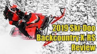 1. 2019 Ski-Doo Backcountry X-RS Review