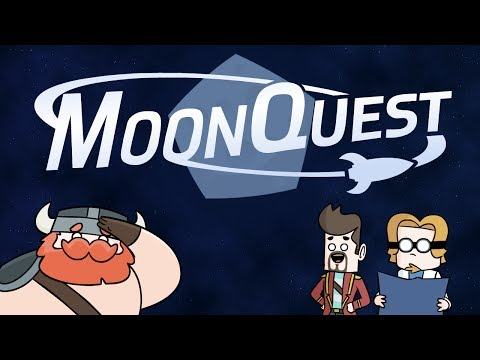 ♪ MoonQuest: An Epic Journey - Original Song and Animation Video