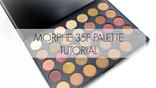 Morphe 35F Palette | Tutorial