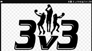 3v3 basketball with Ben