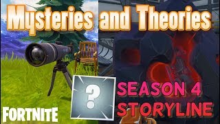 NEW Fortnite Season 4 Storyline Theories - Explaining the Story and Current Mysteries