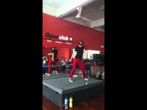 Dancehall - Andrey Boyko (Rusia)  EN ARGENTINA (видео)