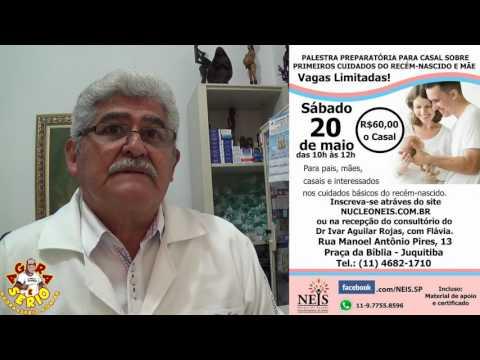 Dr Ivar Aguilar tem um recado importante para as Grávidas de Juquitiba e Região