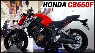 8. 2018 Honda CB650F Review Awesome First Look