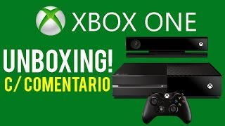 UNBOX XBOX ONE - Day One Edition (EDIÇÃO ESPECIAL) - C/ COMENTARIO [HD]