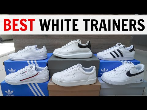 BEST WHITE TRAINERS/SNEAKERS For Men Summer 2020 (Adidas, Nike, Alexander Mcqueen + More)