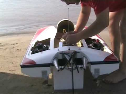 rc boat in greece  formula 1  test  ( 1 )
