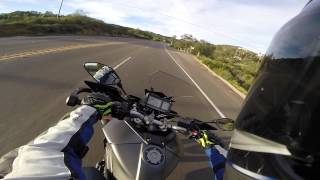8. 2015 Yamaha FJ-09 Full Review and V-Log