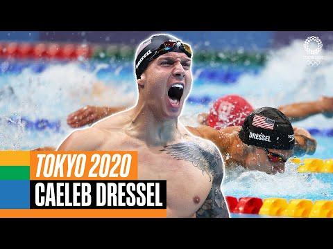 🏊🏻♂️ The BEST of Caeleb Dressel 🇺🇸 at the Olympics!