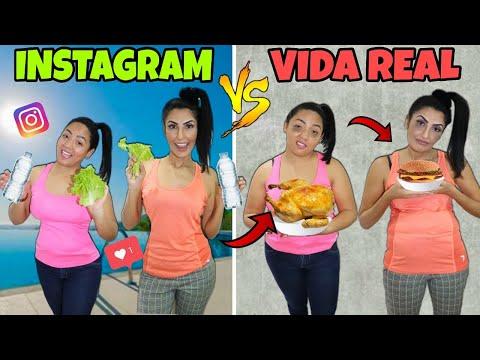 VIDA NO INSTAGRAM VS VIDA REAL /Canal da Sil
