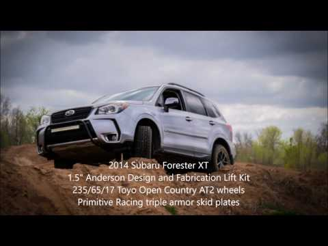 2014 Subaru Forester XT at Sundog Trails Offroad Park (видео)