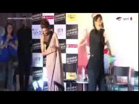 Chennai Express – Shah Rukh Khan , Deepika Padukone & Rohit Shetty – Delhi ( City Tour )